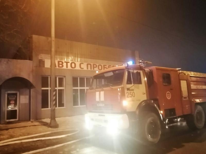 Огнеборцы ГКУ МО «Мособлпожспас» приняли участие в тушении пожара