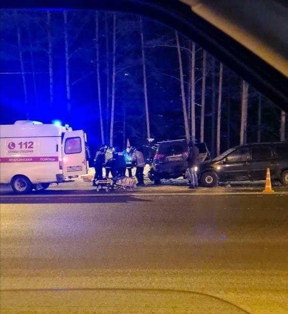 Подмосковные спасатели деблокировали пострадавшего в ДТП