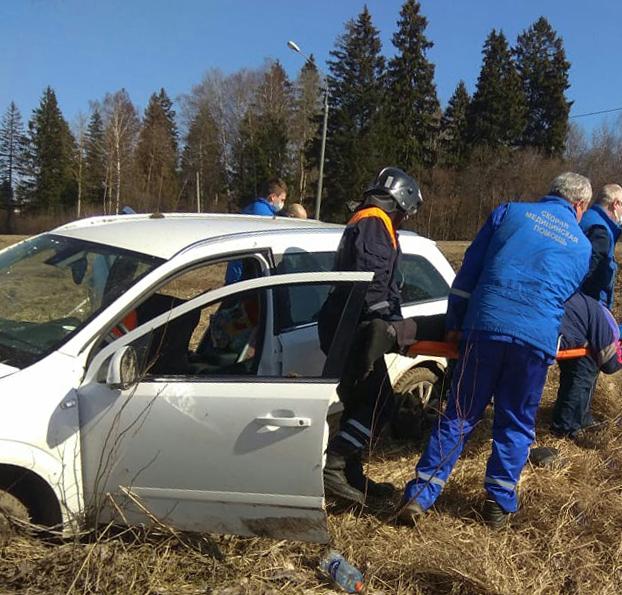 Спасатели ПСЧ-265 ГКУ МО «Мособлпожспас» деблокировали пострадавших в дорожно-транспортном происшествии