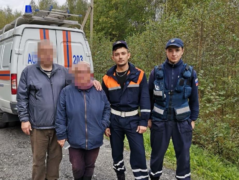 Работники ПСЧ-203 ГКУ МО «Мособлпожспас» дважды за сутки выезжали на поиск заблудившихся грибников